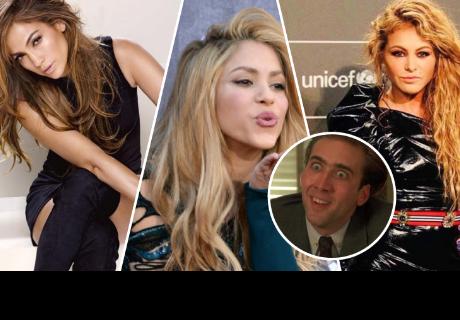 Foto donde aparece Shakira, Jennifer López y Paulina Rubio nos muestra como eran antes de sus 'arreglitos'