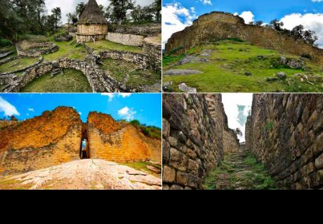 Kuélap, la ciudad perdida en Perú.