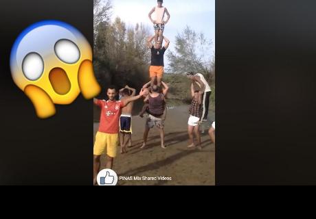 'Superhombre' levantó a 10 personas y todo acabó así