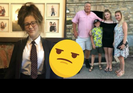 Alumna fue prohibida de ingresar a su escuela solo por su uniforme