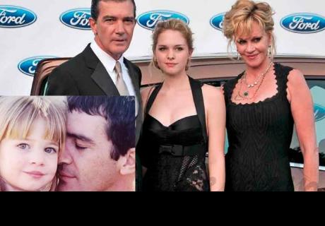 Mira cómo luce la hija de Antonio Banderas a sus 22 años