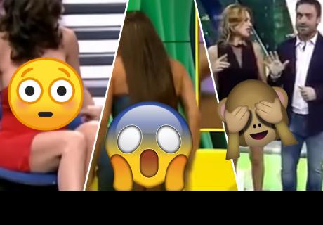 7 momentos más bochornosos de la televisión en vivo que te harán sentir vergüenza ajena