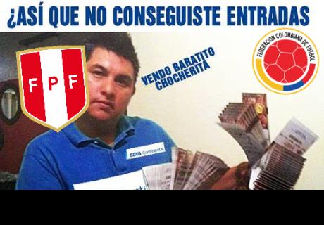 Perú vs Colombia: Los mejores memes por la venta de entradas online