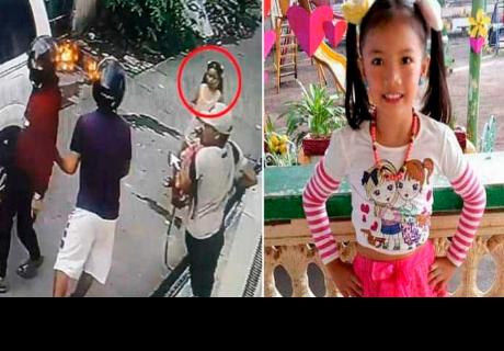 Niña vio que ladrones asaltaban a su papá y los enfrentó sin miedo