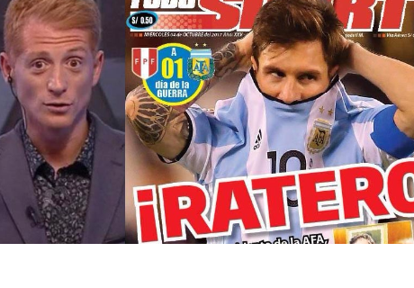 Periodistas argentinos se enojan con medios peruanos por decirles 'rateros'