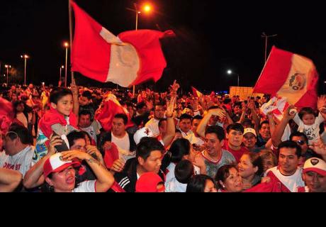 Argentina vs Perú: Selección peruana es recibida 'como en casa' a su llegada a Buenos Aires
