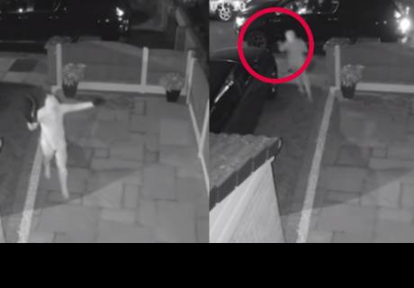 Dos ladrones logran robar un auto en menos de un minuto y sin llave
