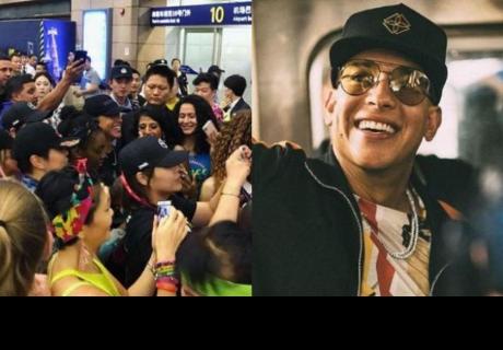 Daddy Yankee fue sorprendido por fans chinos.