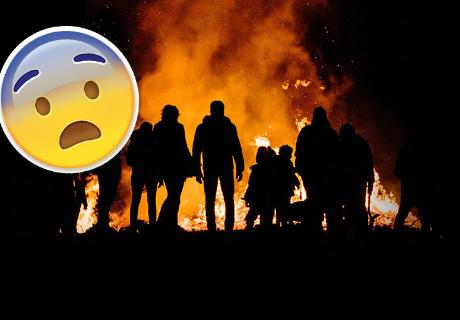 Nadie logra explicar el origen de las llamas que salen de un misterioso agujero