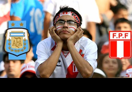 Argentina vs Perú: Las estadísticas que todo peruano quiere olvidar