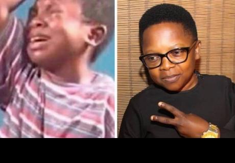 El niño que llora en los memes, esta es su triste historia.