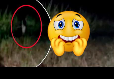 Captan a fantasma 'Gong Goi' de un solo pie y su aspecto aterró a todos en la red