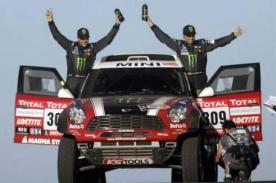 Dakar 2012: Joan Nani se lleva la tercera etapa en autos