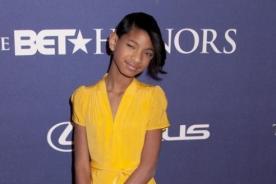 Willow Smith lució elegante en los BET Honors 2012