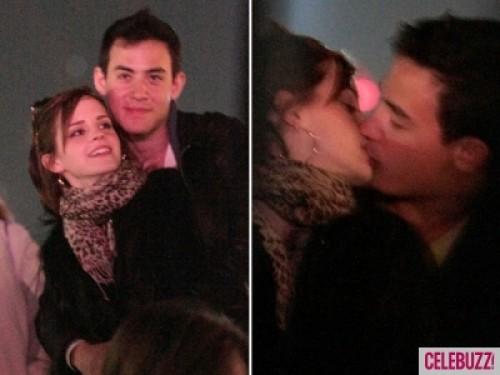 Foto: Emma Watson en besos con nuevo galán