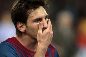 ¿Que pasó? Lionel Messi no la vio ante el Real Madrid y el Chelsea