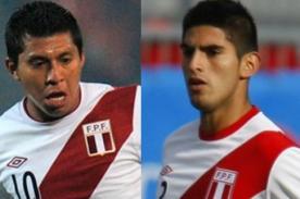 Fútbol peruano: Cruzado y Zambrano serían titulares ante Colombia