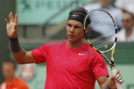 Roland Garros 2012: Rafael Nadal se mete en cuartos tras vencer a Mónaco