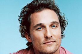 Matthew McConaughey se pasea por Machu Picchu