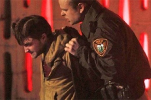 Daniel Radcliffe fue arrestado en escenas de su filme 'Horns' (Fotos)