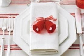 Adornos Navideños: Campanas de Navidad para decorar tu mesa