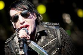 Marilyn Manson casi pierde una de sus orejas tras una fuerte pelea en Suiza