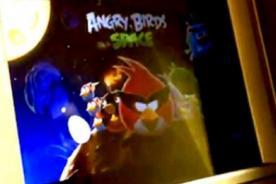 Niño hackea cajero automático para jugar Angry Birds - Video
