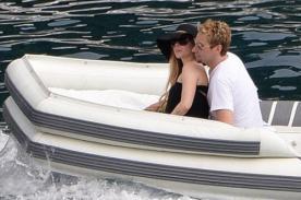 Fotos: Avril Lavigne y Chad Kroeger disfrutan de su luna de miel