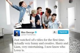 Max George de The Wanted: Best Song Ever de One Direction es divertida