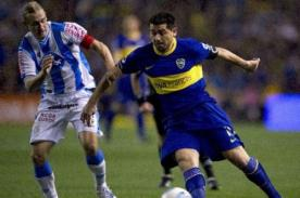 Video: Juan Román Riquelme anotó golazo con todo un equipo bajo el arco