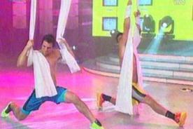 EEG: Yaco Eskenazi y Nicola Porcella se enfrentan en sexy dance - Video
