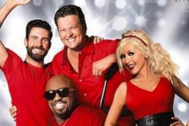 The Voice: Promoción de quinta temporada con Christina Aguilera - Video