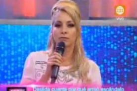 Entrevistada a Sofía Franco: Ustedes se copian de Amor Amor Amor (Video)
