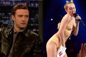 Justin Timberlake: Miley Cyrus es talentosa pero no apoyo su presentación