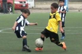 Video: Hijo de Jefferson Farfán anotó seis golazos contra Alianza Lima