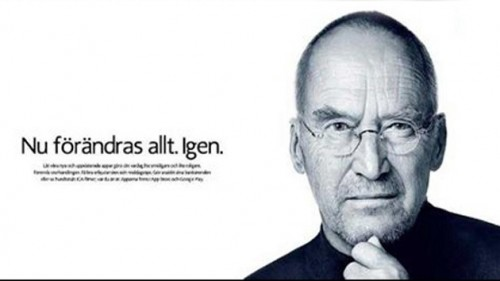 Publicidad con un 'Steve Jobs' desata ola de críticas en redes sociales