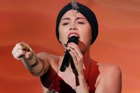 Miley Cyrus es tildada de 'aburrida' tras su presentación en The X Factor - Video
