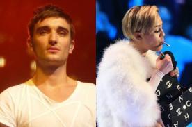 Tom Parker de The Wanted critica a Miley Cyrus: Ha ido demasiado lejos