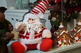 Como hacer un Papa Noel de algodón para tu árbol de navidad