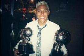 Raúl Ruidíaz fue la estrella en la premiación de la Copa Movistar 2013