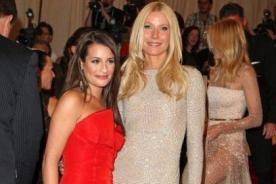 Gwyneth Paltrow se toma selfie junto a Lea Michele y Dianna Agron