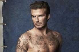 David Beckam posa sensual para una reconocida marca de ropas de baño - FOTOS