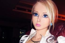 [Fotos] Mira el antes y después de Valeria Lukyanova, la 'Barbie humana'