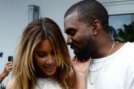 Kanye West llama 'per...' a Kim Kardashian con regalo de bodas [Foto]