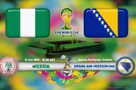 Mundial 2014: Nigeria vs Bosnia en vivo por ATV