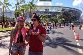 Mario Hart y Alejandra Baigorria disfrutan del Mundial Brasil 2014 [FOTOS]