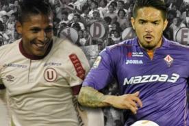 Universitario de Deportes vs Fiorentina en vivo por CMD - Copa Euroamericana 2014