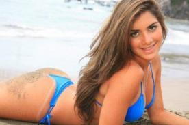 Combate: Korina Rivadeneira deja en shock con tremenda sesión de fotos