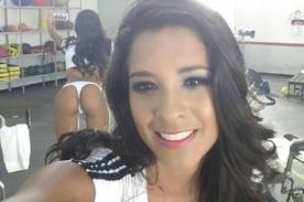 Rocío Miranda publica provocativo 'belfie' en Facebook [Foto]