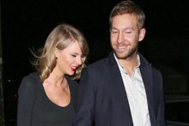 ¡Taylor Swift luce más enamorada que nunca de Calvin Harris!